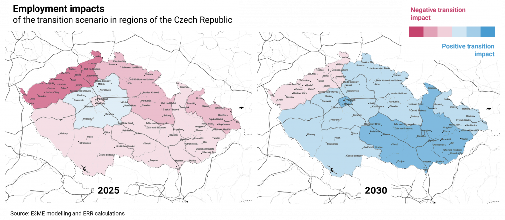 Disaggregated results in Czechia
